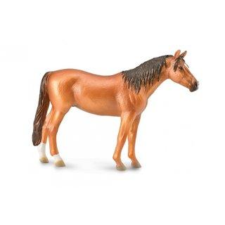 Figur Pferd Stute Braun 16 X 11 Cm