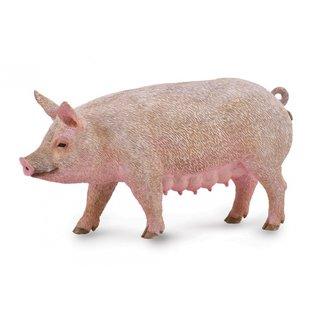 Spielfigur Schwein Rosa 10 X 5 Cm