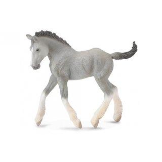 Pferde: Shire Fohlen 10 Cm Grau