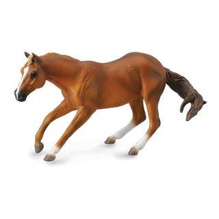 Pferde: Quarter Hengst 16 Cm Hellbraun