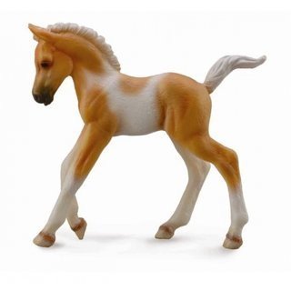 Pferde: Pinto Fohlen 8 Cm Hellbraun