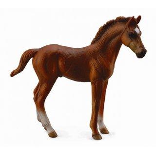 Pferde: Englisches Vollblut 10 Cm Dunkelbraun