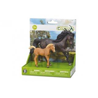 Pferde: Spielset In Geschenkbox 2-Teilig