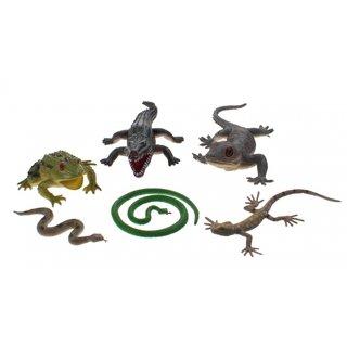 Die Animal World Der Animal World Playset Reptilien 6 Stück