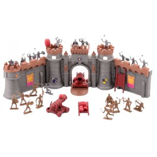 Medieval Knights Ritter Burg Mit 37-Stück