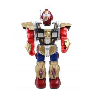 Roboter Mit Licht Und Ton 30 Cm Rot/Gold