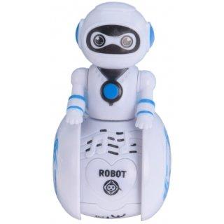 Roboter Mit Licht Und Ton Weiß 11 Cm