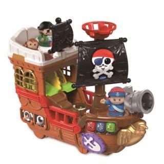 Piratenschiff Fröhliche Freunde 11-Teilig