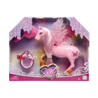 Pegasus Mit Pinsel 14 Cm Rosa
