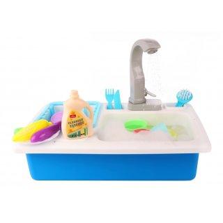 Spielset Küchenspüle Und Wasserhahn 19-Teilig