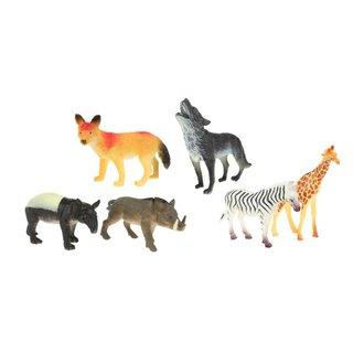 Wildtiere 6 Stück