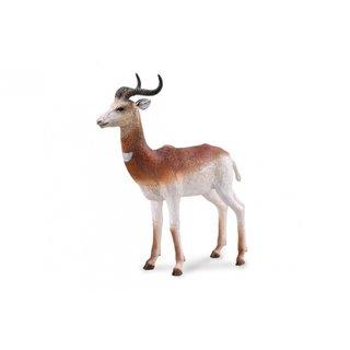 Figur Gazelle Braun 9 X 9 Cm