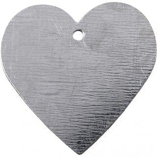 Metall Hart30 X 30 Mm Silberstärke 1 Mm 15 Stück