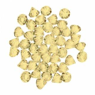 Dekorationsdiamanten Gelb 28 Gramm
