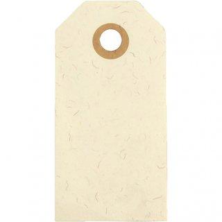 Etiketten Beige 4 X 8 Cm Karton 20 Stück