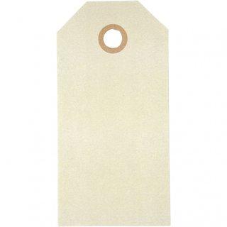 Etiketten Beige 5 X 10 Cm Karton 1000 Stück