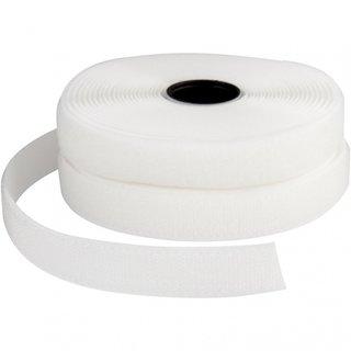 Klettverschluss Weiß 5 Meter