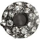 Perlen Strassstein Silber 7 X 12 Mm 2 Stück