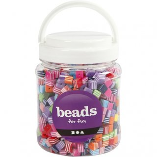Perlen 950 Stück Mehrfarbig Akrylisch