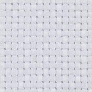 Aida-Tuch Weiß 50 X 50 Cm
