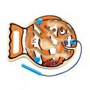 Geschicklichkeitsspiel Go-Fishh-Go 25 Cm Orange