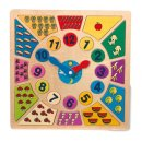 Leder Uhr Multicolor