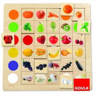 Holzlernspiel Farben Zu Erkennen
