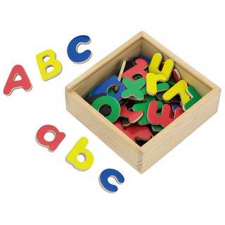 Magnetbuchstaben 52-Teilig Mehrfarbig