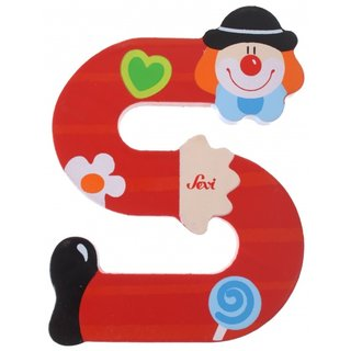 Clown Roten Buchstaben S 10Cm