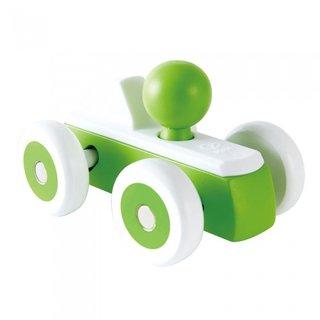 Holzrennwagen 15 Cm Grün
