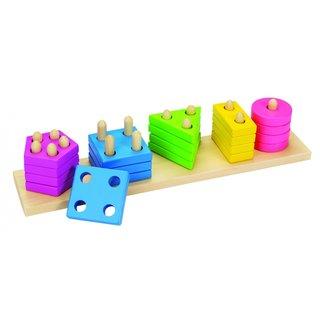 Sort Game: Farben Und Formen 20-Piece