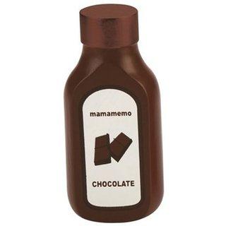 Flasche Holz 10Cm Braun Schokoladensoße