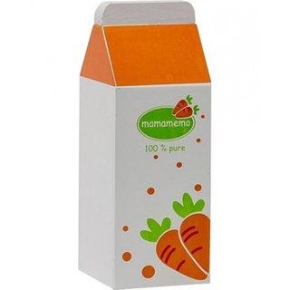 Karottensaft Holz 12 Cm Orange