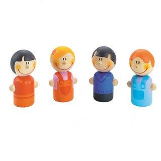 Puppen Familie 4 Stück