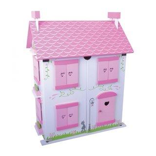 Holzpuppenhaus Rose Cottage