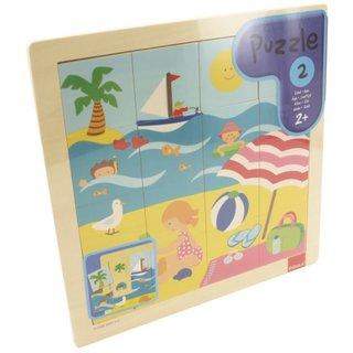 Puzzle Sommer 16 Stück