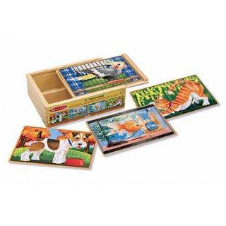 Haustiere Puzzle-Set