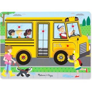 Form Puzzle Mit Sound Die Räder Des Busses
