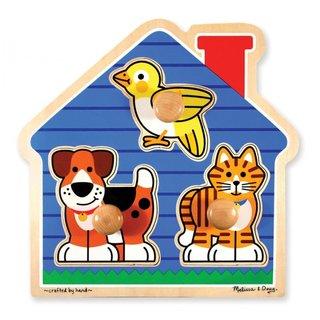 Form Puzzle Haustiere 3 Stück