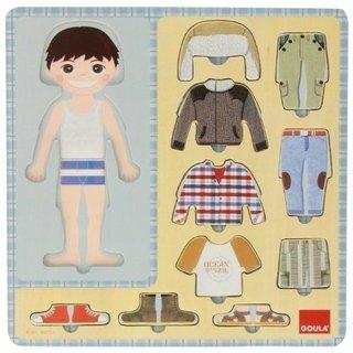 Formpuzzle Dress-Up Boy 10 Stück