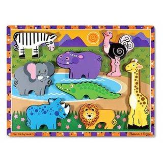 Safari Chunky Puzzle 8-Teilig