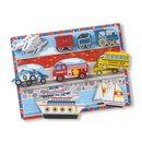 Fahrzeuge Chunky Puzzle 9-Teilig