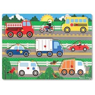 Holzformen Puzzle Fahrzeuge 8-Teilig