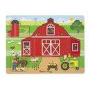 Holzform Puzzle Bauernhof 8-Teilig