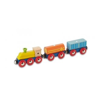 Eisenbahnwagen Holztransport 22,7 Cm 3-Teilig