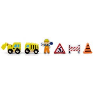 Spielfiguren Straßenbau 6-Teilig