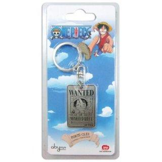 ONE PIECE - Schlüsselanhänger - Wanted - Luffy / Ruffy