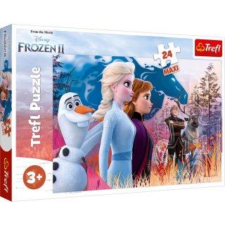 Trefl Maxi Puzzle - Disney Frozen 2 - 24 Teile - Die Magische Reise