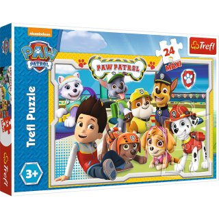 Trefl Maxi Puzzle  - Paw Patrol - 24 Teile - Fun Team